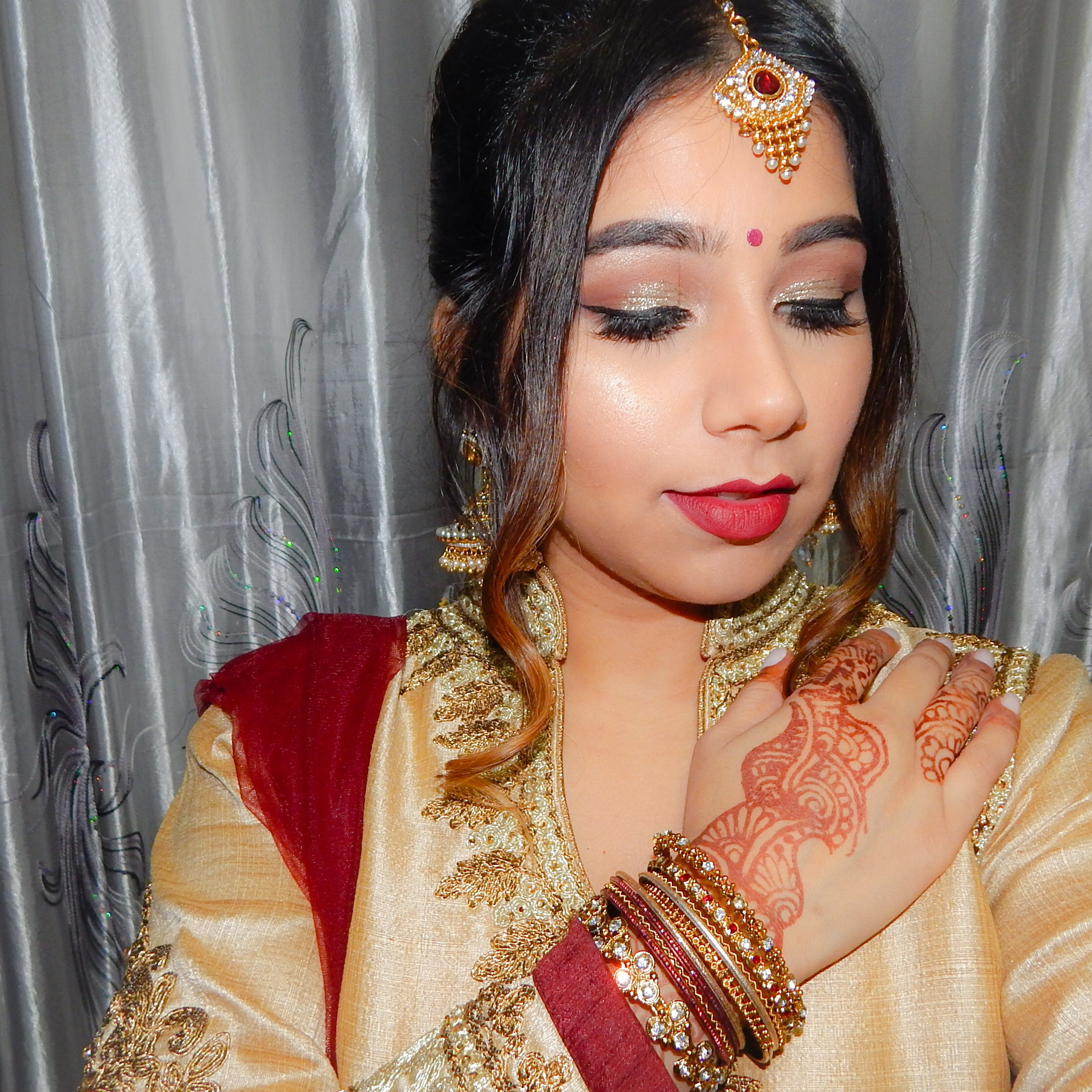 Makeup Ideas For Wedding Day: Wedding Day – Indian Wedding – DII BLOGS