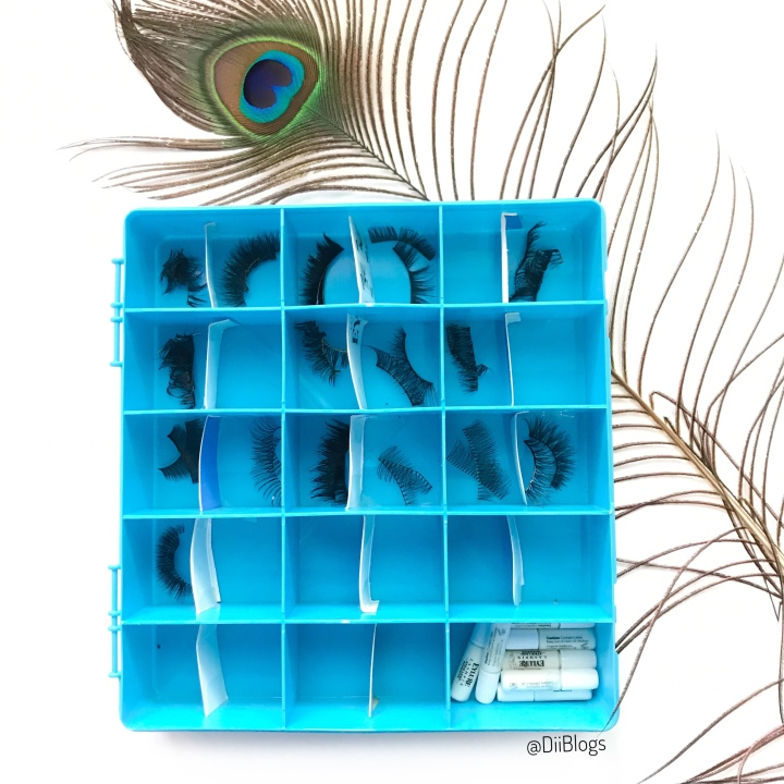 How I Store and Organize my False Lashes