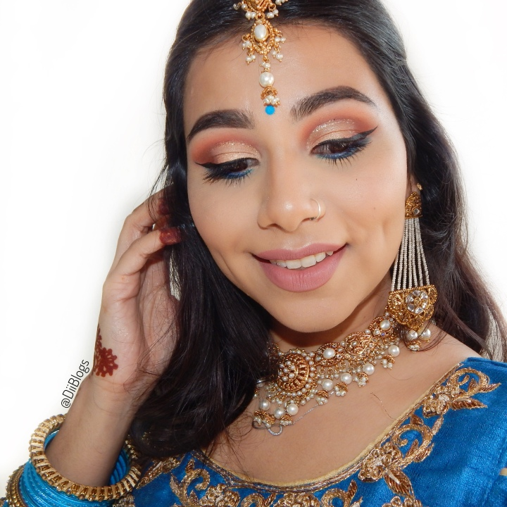 Blue & Gold | Indian Outfit Get Ready withMe