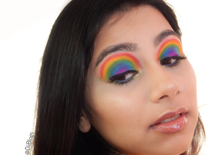 Rainbow Eyeshadow Look | Pride Month